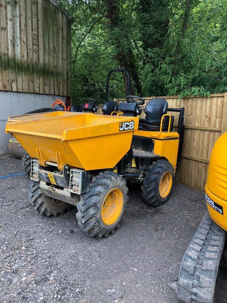 1.5 Ton Hi-Lift Dumper Hire in Stoke on Trent