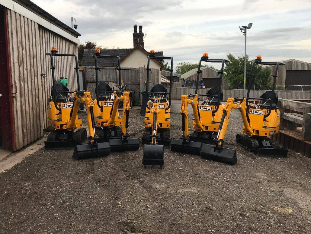 Micro Digger Hire in Stoke on Trent