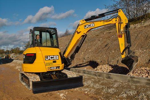 3 Ton Digger Hire in Stoke on Trent