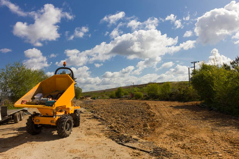 Landscaping Project With Dumper