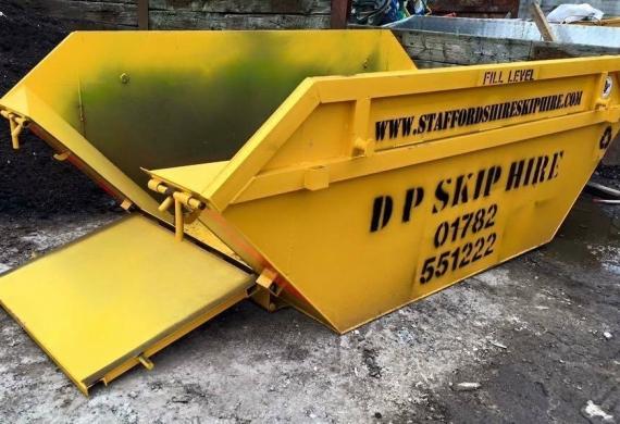 Drop Door Skip Hire in Newcastle-under-Lyme