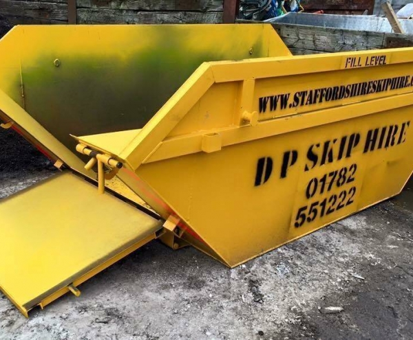 Drop Door Skip Hire in Newcastle-under-Lyme