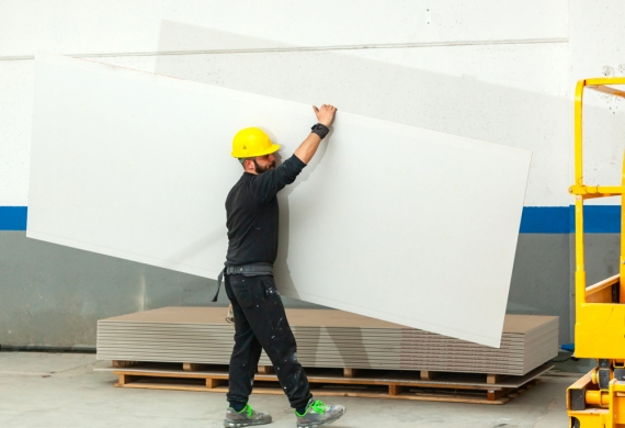 skip hire - plasterboards